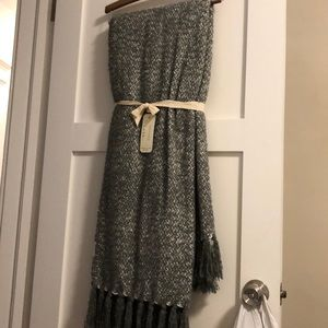 Throw blanket. Brand new. Reversible. Sparkly!